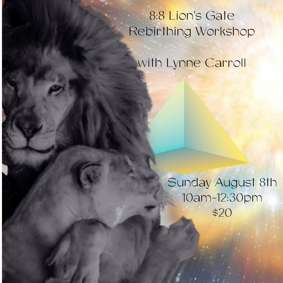 Join Lynne Carroll for the Lions Gate Workshop at Solace Centre Nanaimo